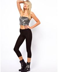 ASOS Collection Cropped Leggings - Lyst