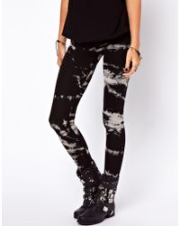 ASOS Collection | Legging in Sketchy Tie Dye | Lyst