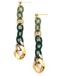 Byrufina Light Colorful Earrings Green - Lyst
