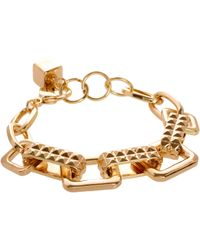 ASOS Collection Asos Chunky Mix Chain Bracelet - Lyst