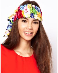 ASOS Collection | Asos Floral Scarf Hair Band | Lyst