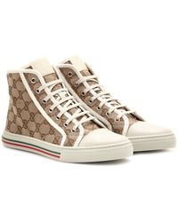 Gucci California Logo Sneakers - Lyst