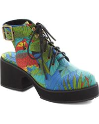 ModCloth Rainforest For The Trees Heel - Lyst