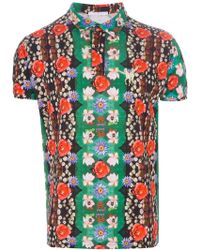 Dead Meat - Printed Polo Shirt - Lyst