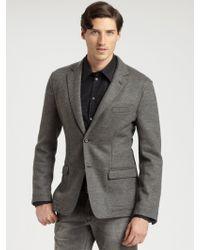 Dolce & Gabbana Twobutton Tweed Blazer - Lyst