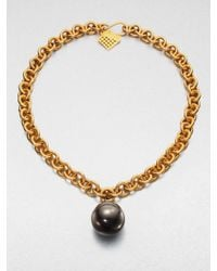 Kelly Wearstler - Sphere Pendant Necklace - Lyst