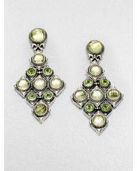 Konstantino Semiprecious Multistone Sterling Silver Cascade Earrings - Lyst