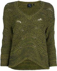 McQ by Alexander McQueen Cable Knit Sweater - Lyst