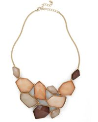 ModCloth Treasured Friend Necklace - Lyst