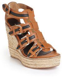 Rebecca Minkoff - Mays Espadrille Wedge Platform Sandals - Lyst