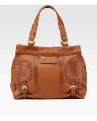 See By Chloé Poya Medium Leather Shoulder Bag - Lyst