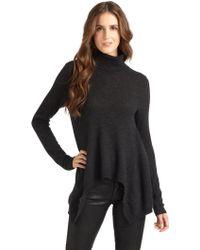 Vkoo - Cashmere Asymmetrical Turtleneck Sweater - Lyst