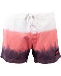 Warriors Of Radness - Phases Tie-Dye Swim Shorts - Lyst