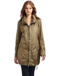 Creenstone - Satin Bubblehem Raincoat - Lyst
