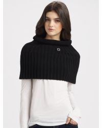 Gucci Wool Cashmere Olis Capelet - Lyst