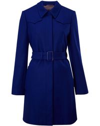 Kenneth Cole - Belted Trench Coat - Lyst