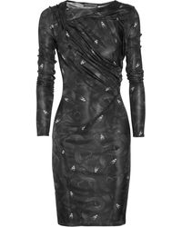 Aminaka Wilmont Printed Stretch-Jersey Dress - Lyst