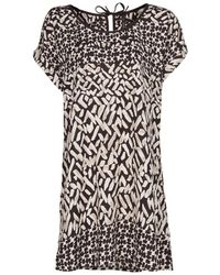 Mango Tribal Inspired Printed Dress - Lyst