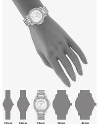 Burberry Diamond & Stainless Steel Watch - Lyst