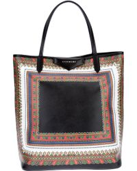 Givenchy Antigona Printed Tote Bag multicolor - Lyst