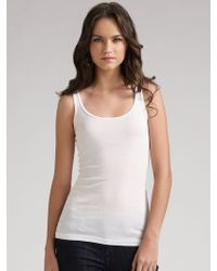 James Perse - Long Tank - Lyst