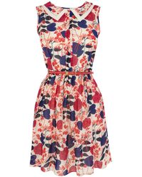 Oasis Shadow Floral Sundress - Lyst