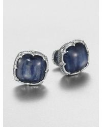 Scott Kay Sterling Silver and Kyanite Cuff Links - Lyst