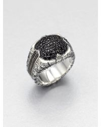 Stephen Webster Sterling Silver Sapphire Ring - Lyst