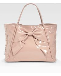 Valentino Betty Bow Tote - Lyst
