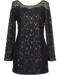 Antik Batik Black Short Dresses - Lyst