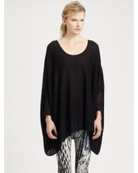 Helmut Lang Cotton Cashmere Sweater - Lyst