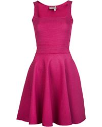 Lanvin Sleeveless Skater Dress - Lyst