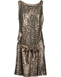 Love Moschino Short Dresses - Lyst