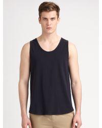 3.1 Phillip Lim Cotton Knit Loosefit Tank Top - Lyst