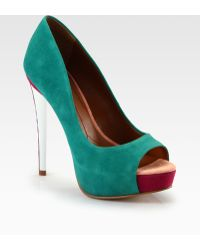 Boutique 9 | Claudius Suede Platform Pumps | Lyst