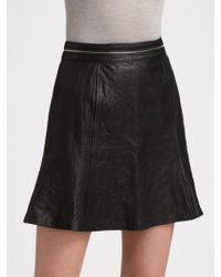 Vena Cava | Leather Tulip Skirt | Lyst