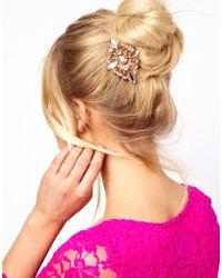 ASOS -  Jewel Hair Brooch - Lyst