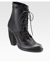 Ld Tuttle Laceup Ankle Boots - Lyst