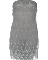 Manila Grace Short Dresses - Lyst