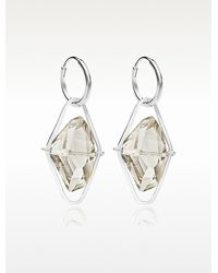 Swarovski - Grace Long Earrings - Lyst