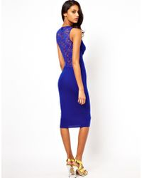 ASOS Collection | Deep Plunge Lace Back | Lyst