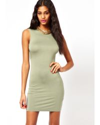 ASOS Collection Mini Sleeveless Square Back Dress - Lyst