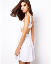 ASOS Collection | Sundress with Cut Out Back | Lyst