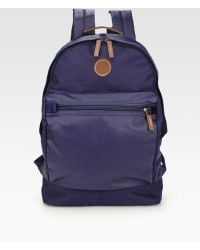 Fred Perry Coated Nylon Rucksack - Lyst