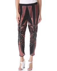 Kelly Wearstler - Embroidered Butterfly Trousers - Lyst