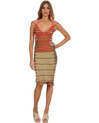 Vivienne Westwood Gold Label Stripey Dress multicolor - Lyst