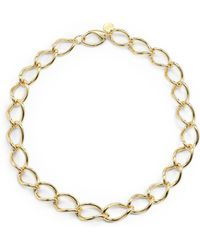 1AR By Unoaerre - Twisted Link Necklace - Lyst