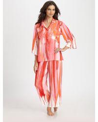 Natori Thien Pajama Set - Lyst