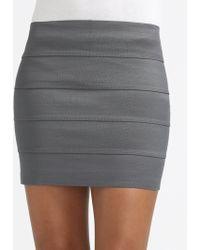 Pleasure Doing Business Banded Mini Skirt - Lyst