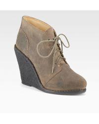 Rag & Bone Odval Desert Wedge Ankle Boots - Lyst